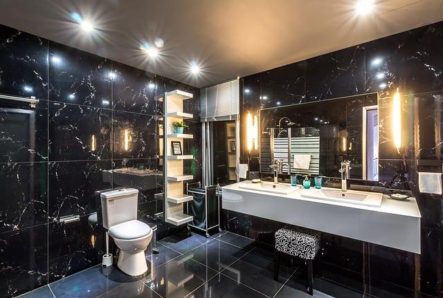 led light bathroom