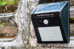 Solar Powered Motion Light