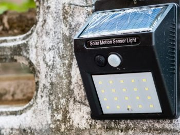 Solar Powered Motion Light