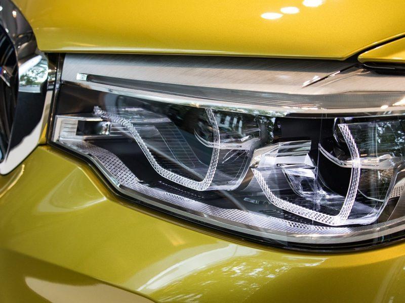 Car Headlight Installation